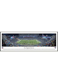 New England Patriots Panorama Framed Posters