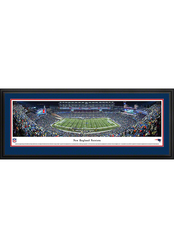 New England Patriots Panorama Deluxe Framed Posters - Image 1
