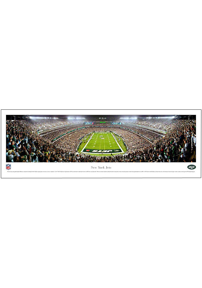 New York Jets End Zone Panorama Unframed Poster - Image 1