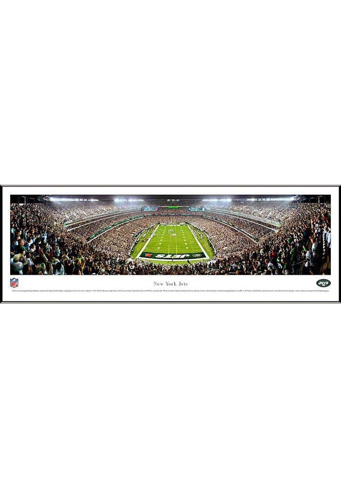 New York Jets End Zone Panorama Framed Posters - Image 1