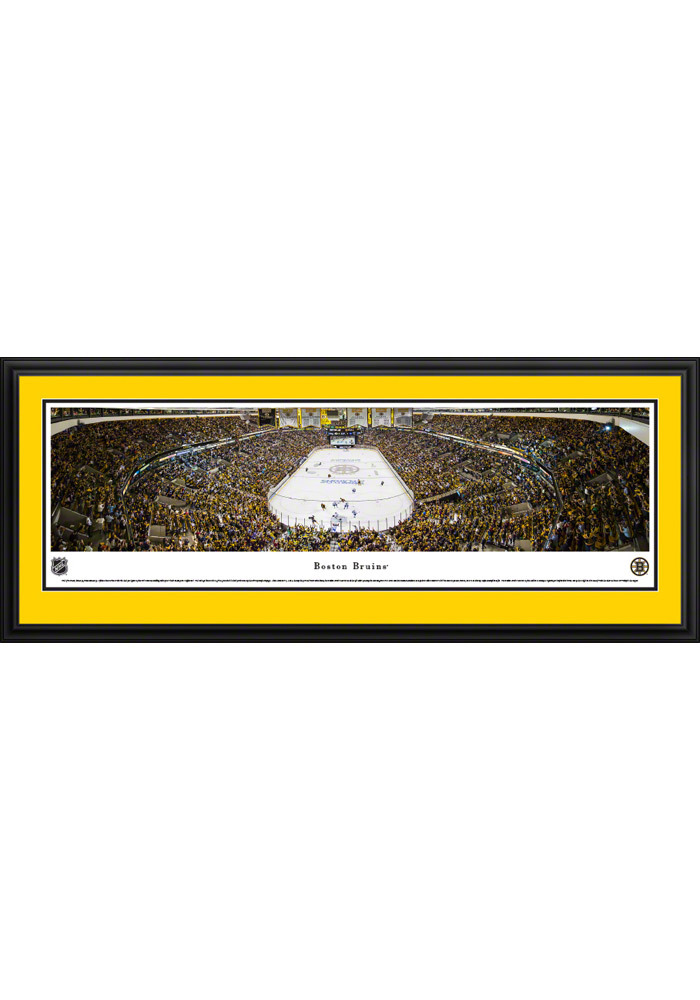 Boston Bruins Panorama 2 Deluxe Framed Posters - Image 1