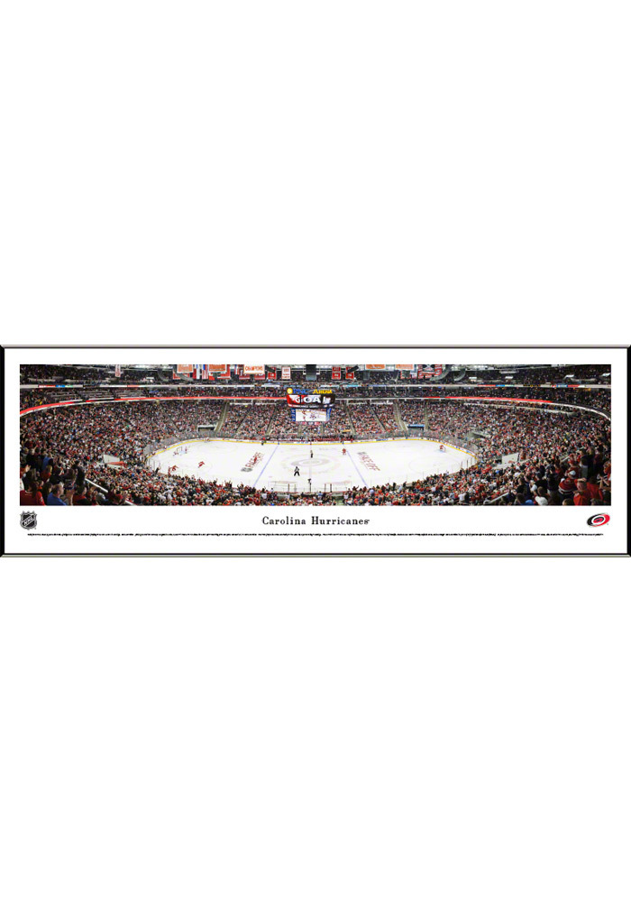Carolina Hurricanes Panorama Framed Posters - Image 1