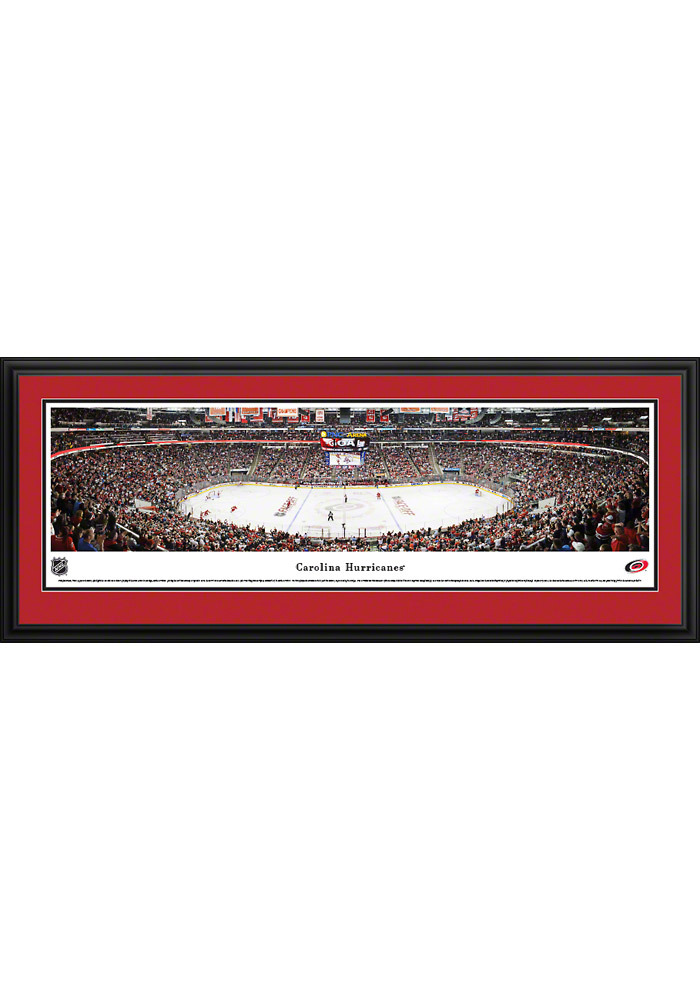 Carolina Hurricanes Panorama Deluxe Framed Posters - Image 1