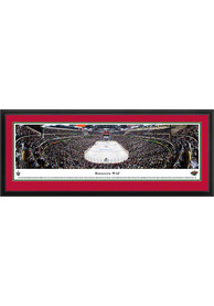 Minnesota Wild Panorama 2 Deluxe Framed Posters