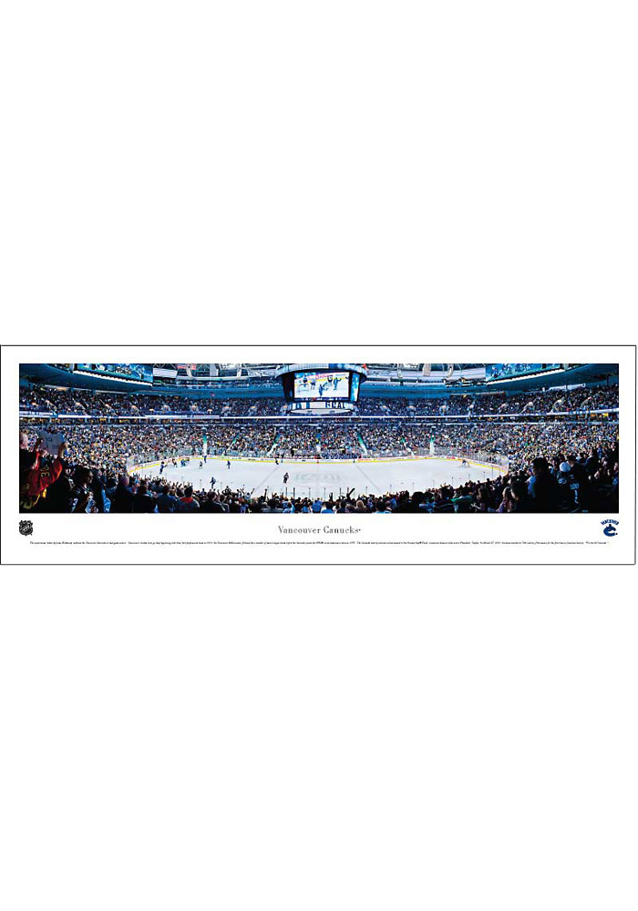 Vancouver Canucks Panorama Unframed Poster - Image 1