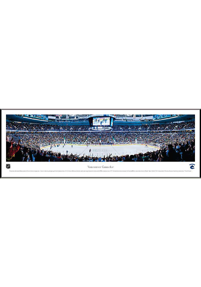 Vancouver Canucks Panorama Framed Posters - Image 1