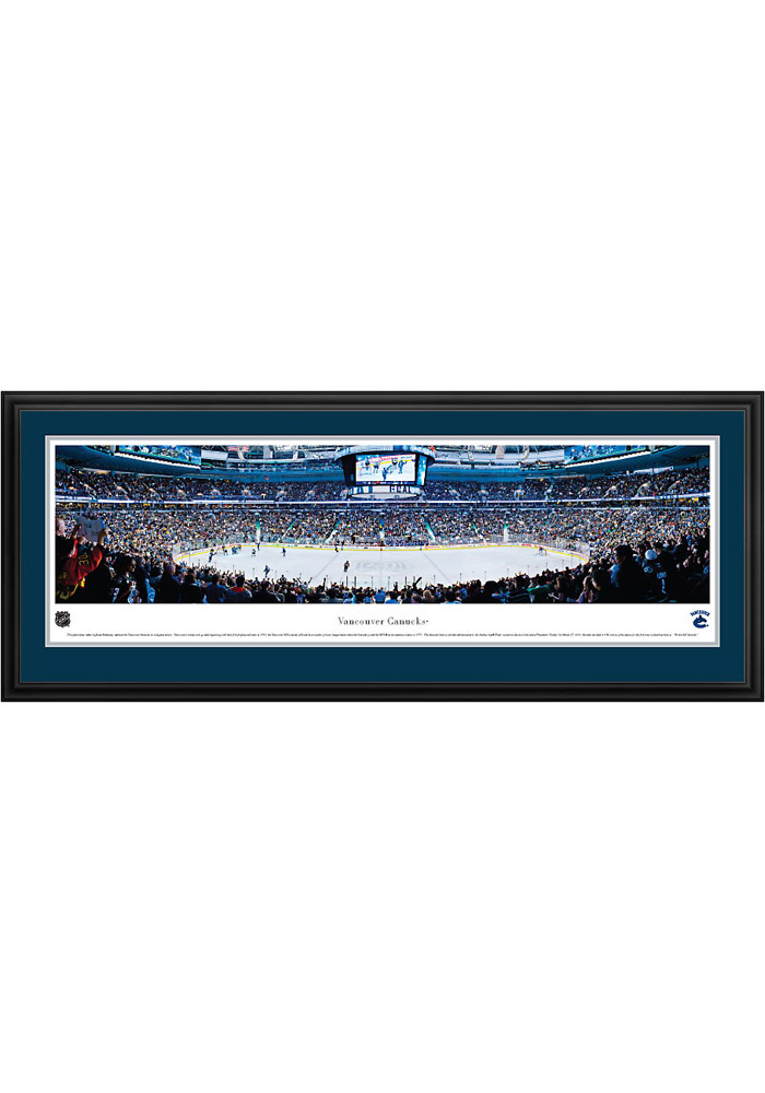 Vancouver Canucks Panorama Deluxe Framed Posters - Image 1