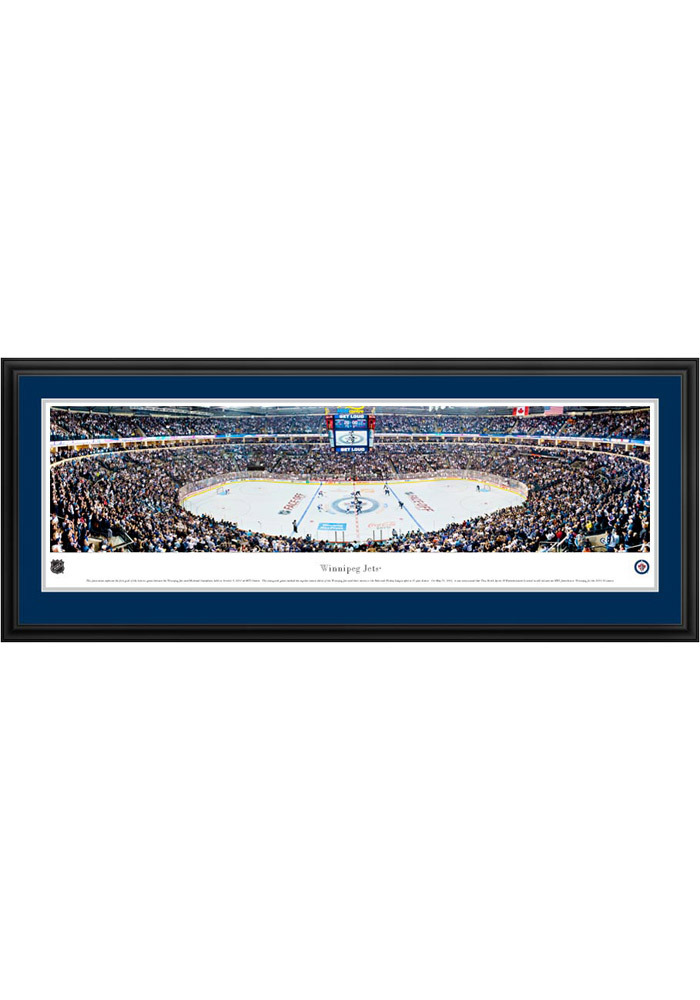 Winnipeg Jets Panorama Deluxe Framed Posters - Image 1