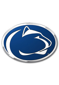 Sports Licensing Solutions Penn State Nittany Lions Aluminum Color Car Emblem - Navy Blue
