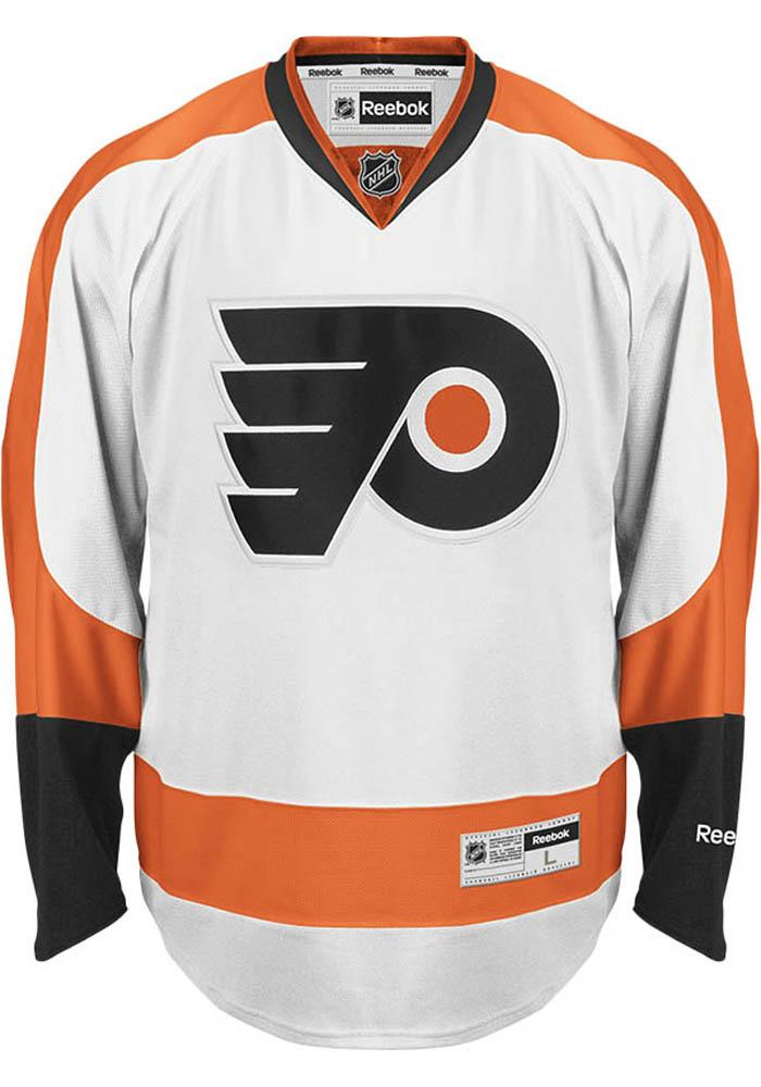 Philadelphia Flyers Mens White Premium Hockey Jersey - Image 1