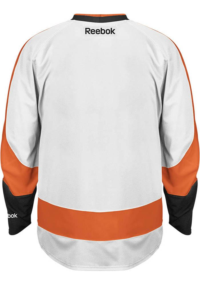 Philadelphia Flyers Mens White Premium Hockey Jersey - Image 2