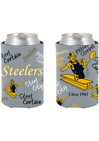 Pittsburgh Steelers 2-Sided Flashback Can Coolie