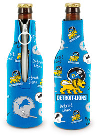Detroit Lions 2-Sided Flashback Bottle Coolie