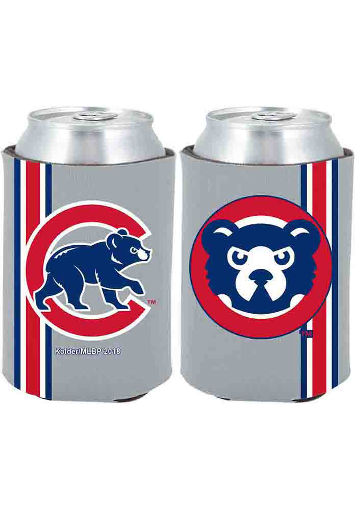 Chicago Cubs 2-Sided Throwback Can Koozie - Image 1