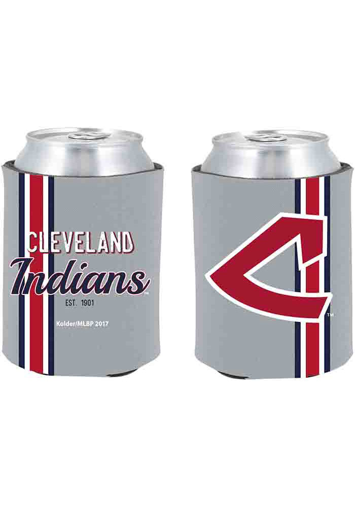 Cleveland Indians 2-Sided Throwback Can Koozie - Image 1