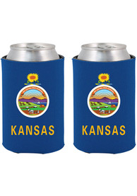 Kansas State Flag Can Coolie