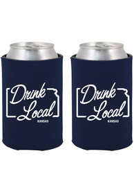 Kansas Drink Local Can Coolie