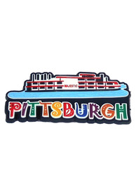 Pittsburgh Riverboat rubber Magnet