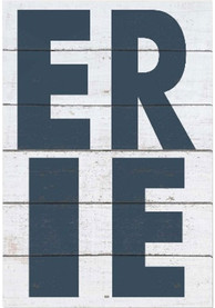 Lake Erie Bold Typography Sign