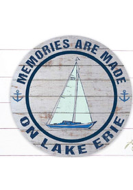 Lake Erie Indoor/Outdoor Circle Sign