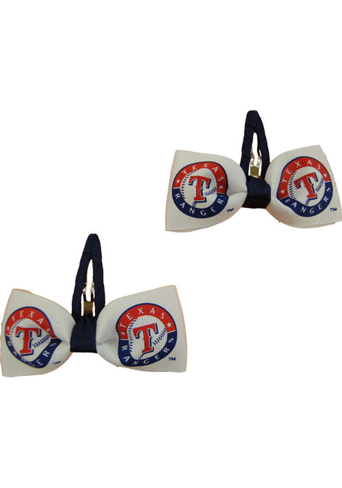 Texas Rangers Clippies Baby Hair Barrette - Image 1