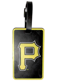 Pittsburgh Pirates Rubber Luggage Tag - Black