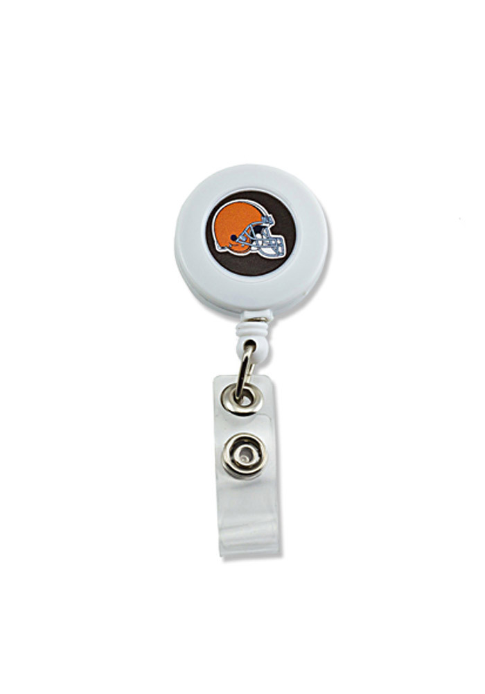 Cleveland Browns Plastic Badge Holder - Image 1