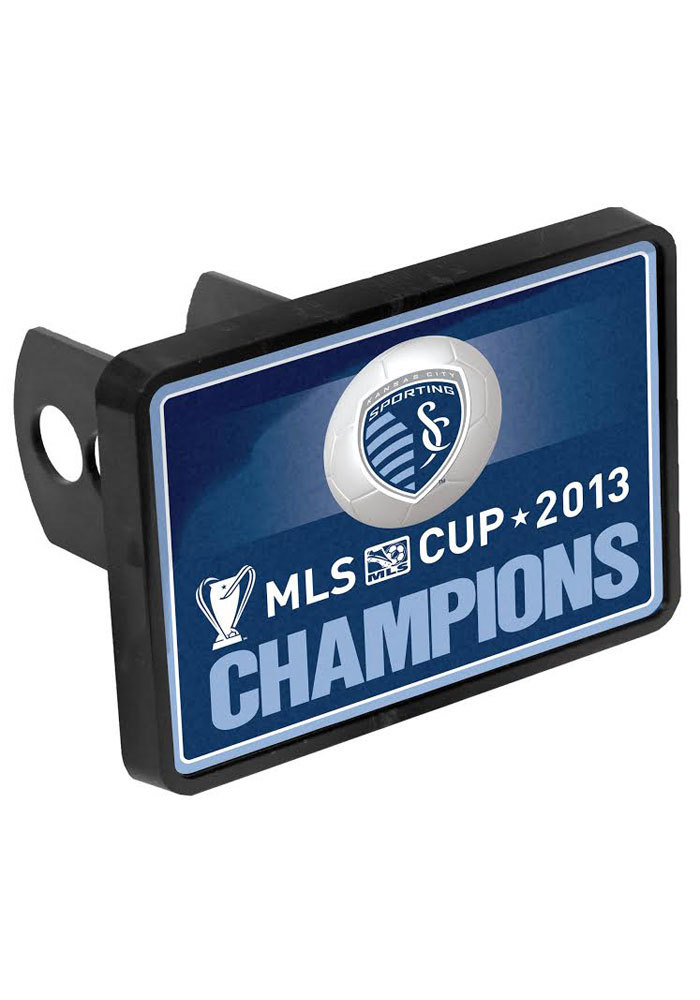 Sporting Kansas City MLS Cup Champion Universal Car Accessory Hitch Cover - Image 1