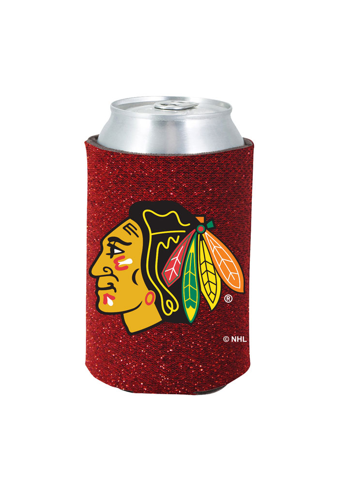 Chicago Blackhawks Glitter Can Coolie - Image 1