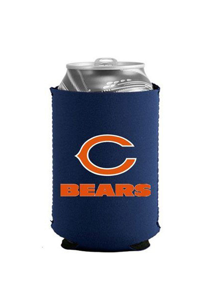 Chicago Bears Can Koozie - Image 1