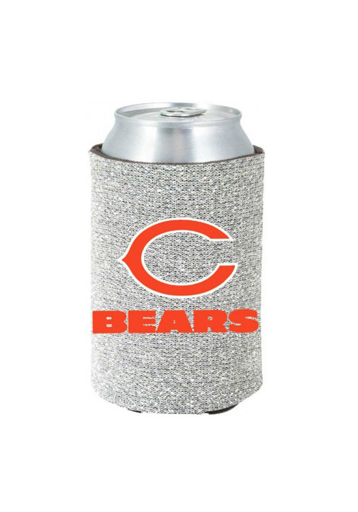 Chicago Bears Glitter Can Koozie - Image 1