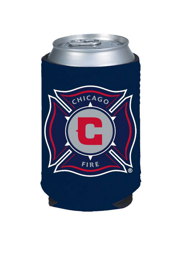 Chicago Fire Team Logo Koozie - Image 1