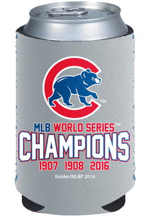 Chicago Cubs 2016 World Series Champions Koozie