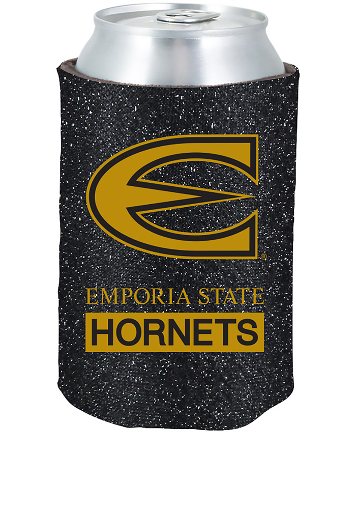 Emporia State Hornets Glitter Can Koozie - Image 1
