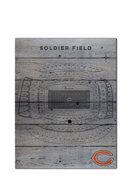 Chicago Bears 16x20 Seating Chart Sign
