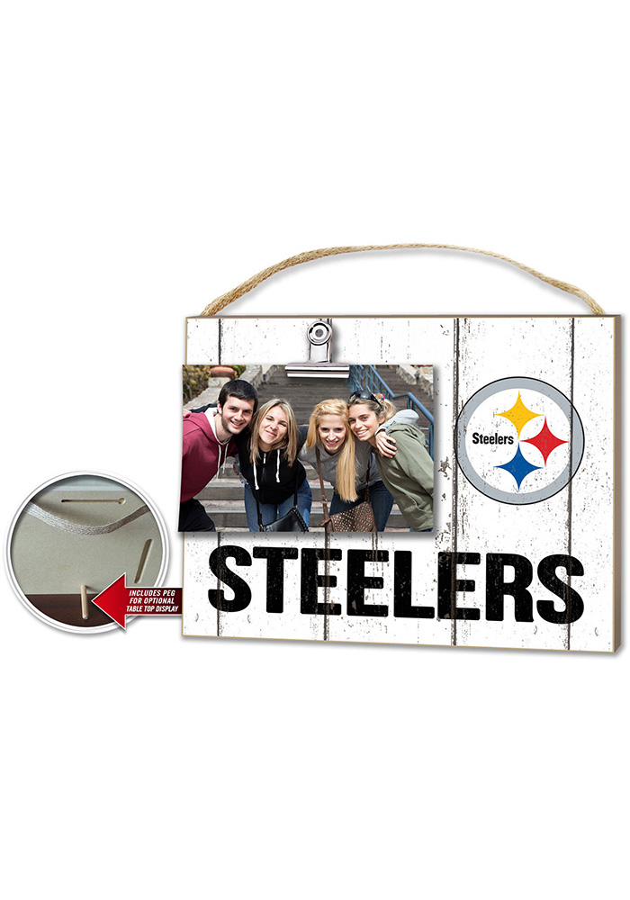 Pittsburgh Steelers 10x8 Clip It Photo Sign - Image 1