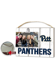 Pitt Panthers 10x8 Clip It Photo Sign