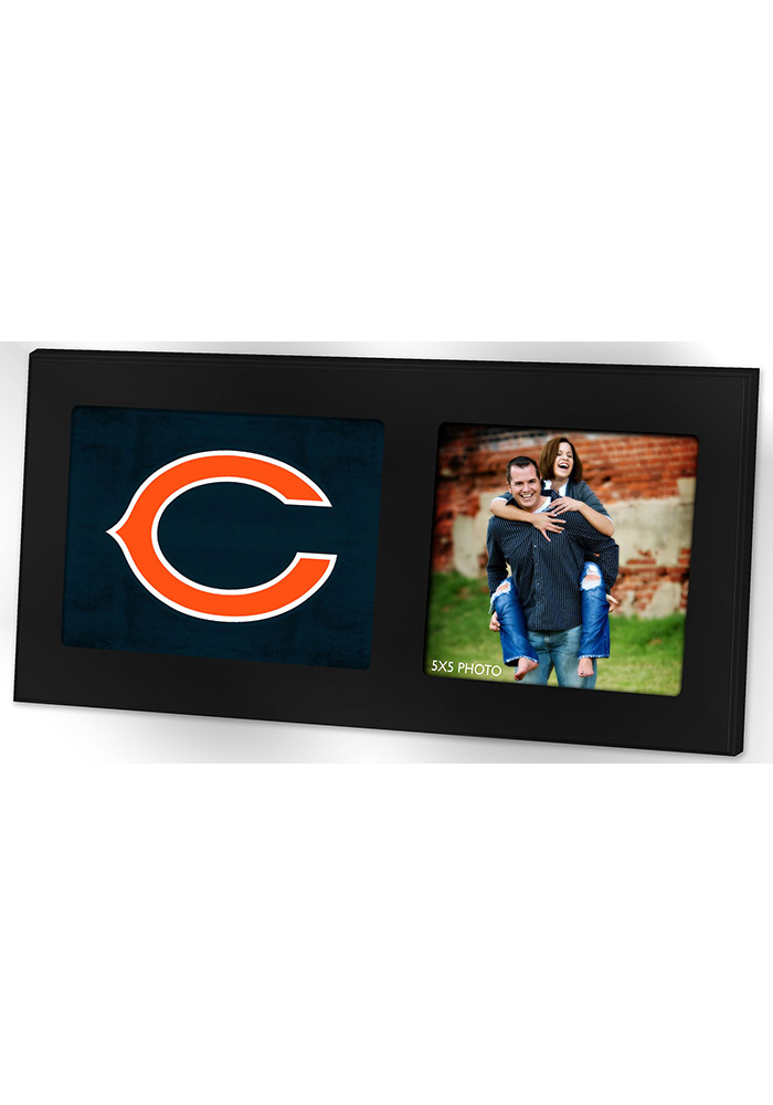 Chicago Bears 8x16 Color Logo Picture Frame - Image 1
