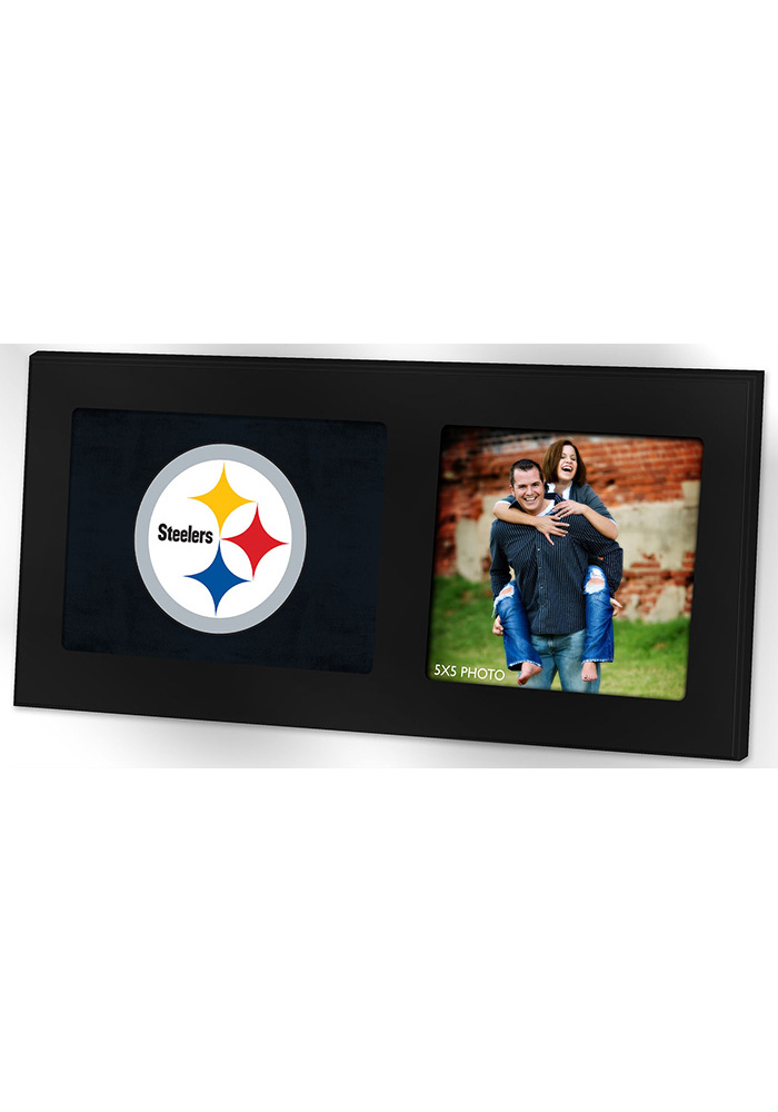 Pittsburgh Steelers 8x16 Color Logo Picture Frame - Image 1