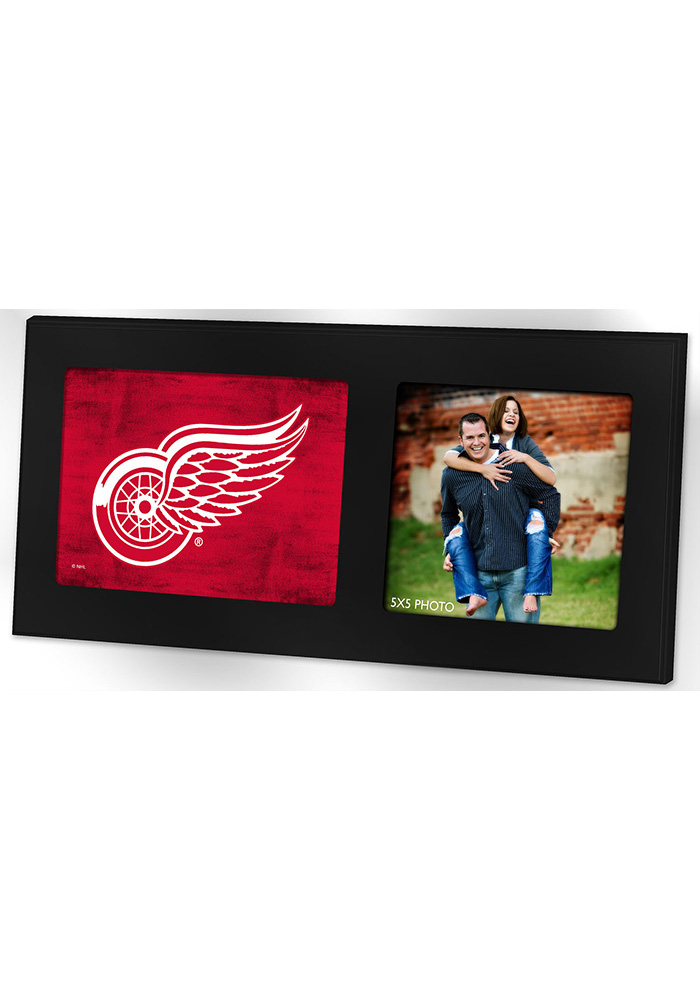 Detroit Red Wings 8x16 Color Logo Picture Frame - Image 1