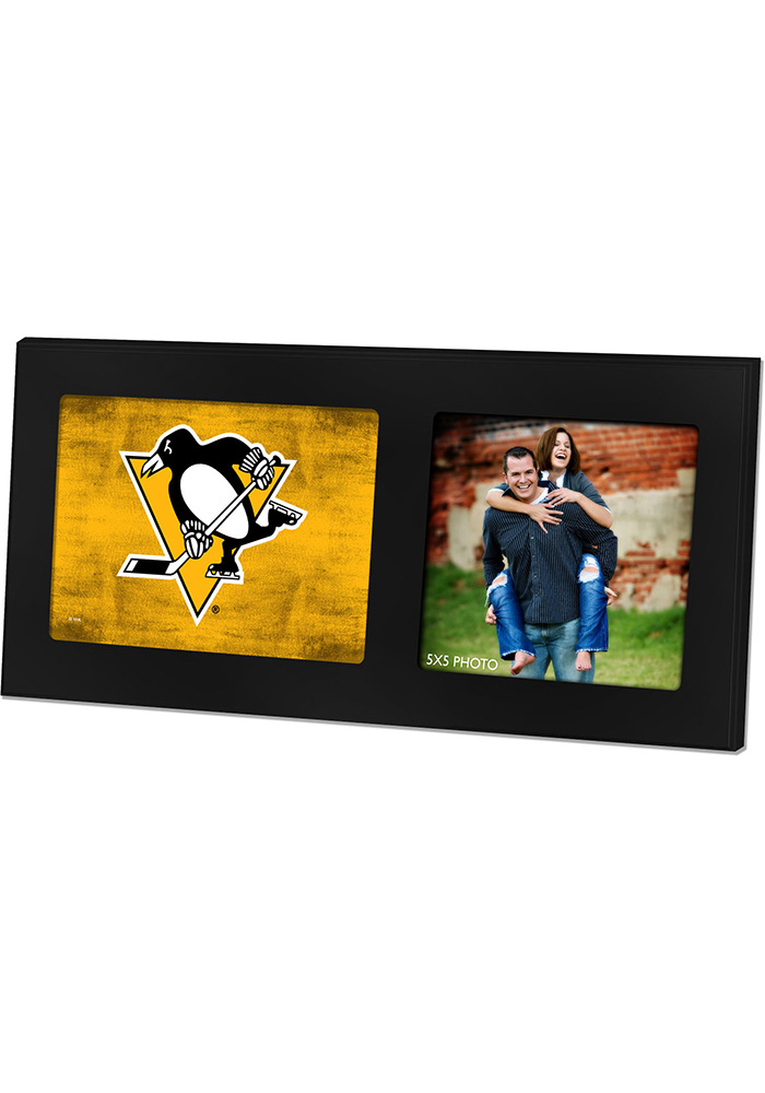 Pittsburgh Penguins 8x16 Color Logo Picture Frame - 15670258
