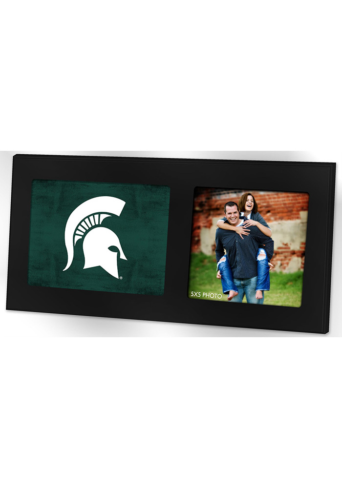 Michigan State Spartans 8x16 Color Logo Picture Frame - Image 1