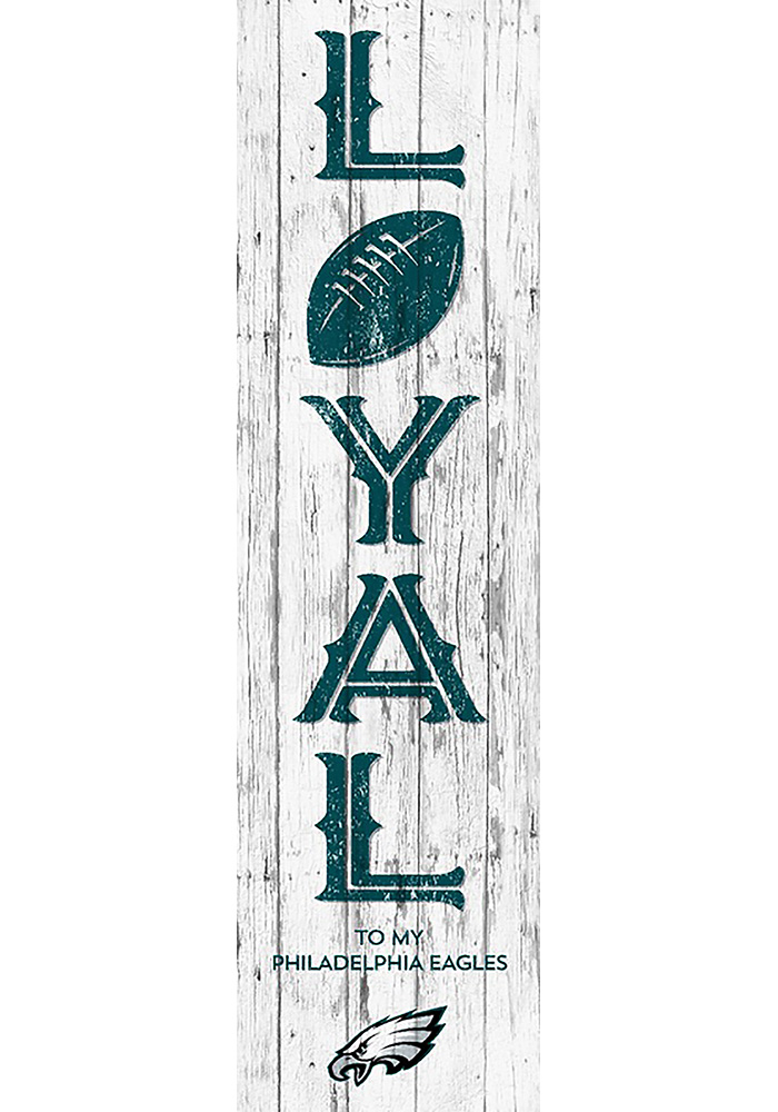 Philadelphia Eagles Loyal Vertical Sign - Image 1
