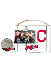 Cleveland Indians 10x8 inch Clip It Photo Sign