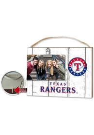 Texas Rangers 10x8 inch Clip It Photo Sign