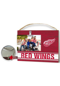 Detroit Red Wings 10x8 inch Clip It Photo Sign