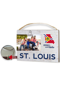 St Louis Clip It Weathered Name Drop Flag Frame Picture Frame