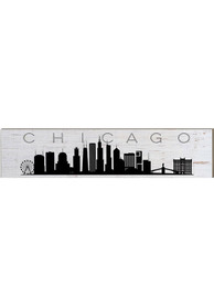 Chicago Skyline Table Top Sign Sign