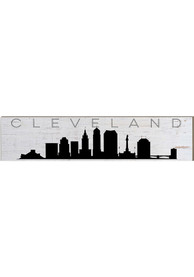 Cleveland Skyline Table Top Sign Sign