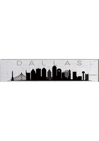 Dallas Ft Worth Skyline Table Top Sign Sign